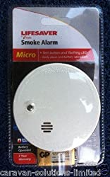 Caravan Kidde Battery Operated Mini Smoke Alarm 100% Satisfaction Guarentee by Kidde