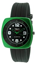 TKO ORLOGI Unisex TK567-GB Allie Green Aluminum Case Watch
