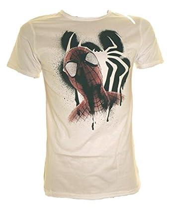 The Amazing Spiderman das weiße T-Shirt Größe Klein