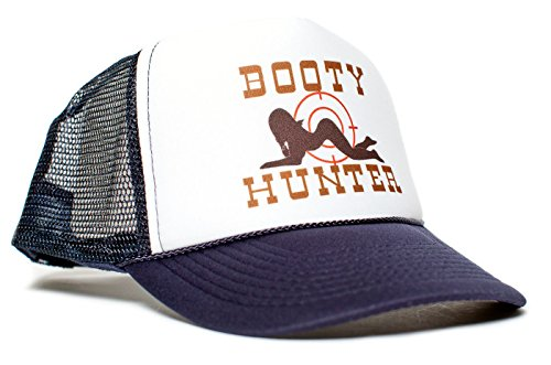 Booty Hunter Unisex-Adult Curved Bill One-Size Truckers Hat