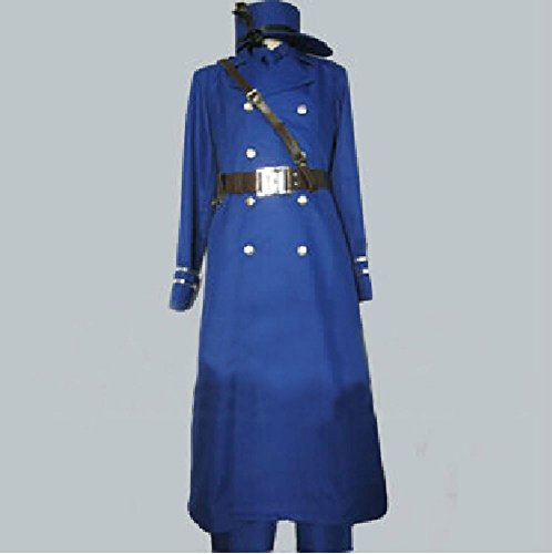 Relaxcos APH Axis Powers Hetalia Sweden Military Uniform Cosplay Costume