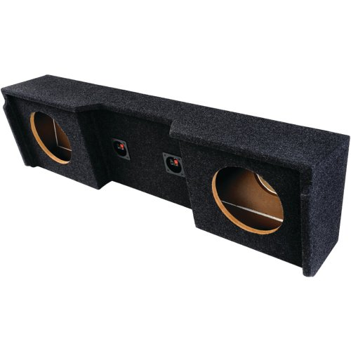 Bbox A152-12Cp Dual Sealed 12-Inch Down Firing Subwoofer Enclosure For Gm Extended Cabs 1999-2007