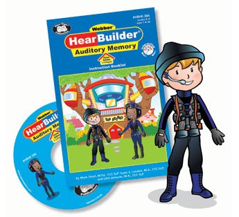 HearBuilder Auditory Memory Interactive Software Program Home Edition - Super Duper Educational Learning Toy for Kids