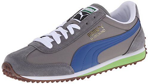 PUMA Men's Whirlwind Classic Lace-Up Fashion Sneaker, Steel Gray/Limoges/Gum, 10 M US