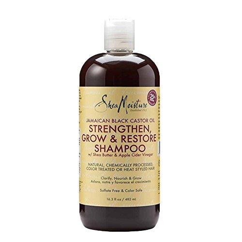 SheaMoisture Jamaican Black Castor Oil Shampoo, 16.3 Ounce (Shampoo Natural Hair compare prices)