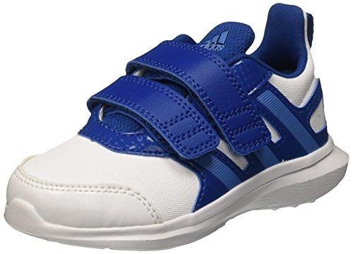 Adidas Hyperfast 2.0 Cf I Scarpe Walking Baby, Unisex bimbo, Multicolore (Ftwwht/Supblu/Eqtblu), 27