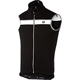 Giordana Silverline Winter Men\'s Vest Black/White, S