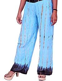 Moolmantra Fashions Women's Cotton Plazzo (Multicolor)