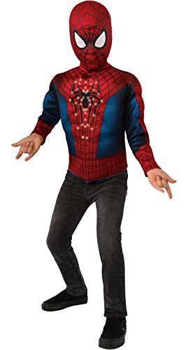 The Amazing Spider-man 2, Spider-man Light-Up Costume Top and Mask, Child Standard