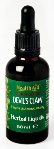 HealthAid Devil's Claw (Harpagophytum procumbens) Liquid 50ml