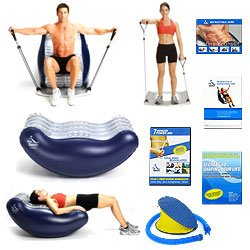 New Trademark The Bean Deluxe And Flex 10 The Ultimate Exerciser Work Your Body At Home With No Pain