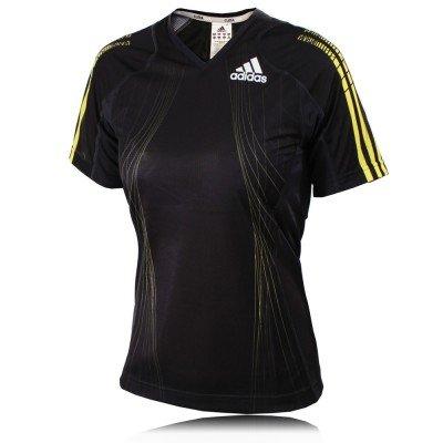 Adidas Lady AdiZero Short Sleeve T-Shirt - Medium