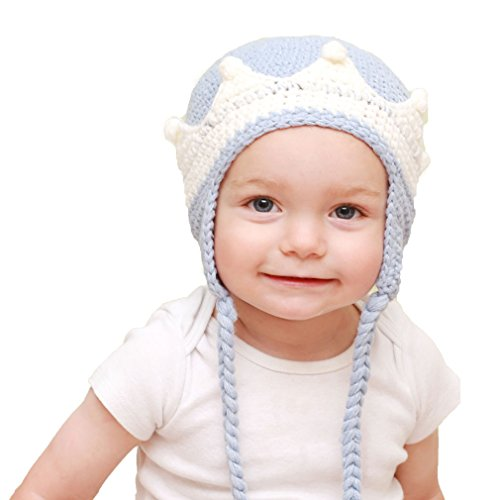 Huggalugs Baby and Toddler Boys Prince Beanie Hat