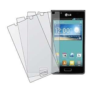 MPERO Collection 3 Pack of Matte Anti-Glare Screen Protectors for LG Splendor