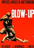 Blow Up Classic Vintage Italian Huge Film PAPER POSTER measures approximately 100x70 cm Greatest Films Collection Directed by Michelangelo Antonioni. Starring Vanessa Redgrave David Hemmings John Castle