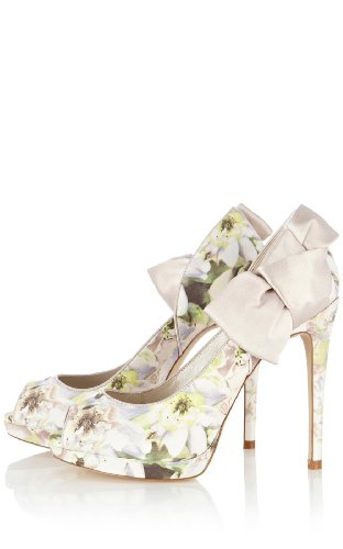 Painterly Floral Print Peep