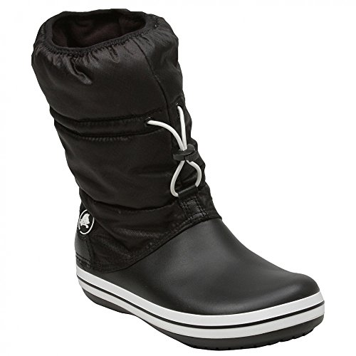 Crocs Women's Crocband Winter Boot,Black/Black,6 M US