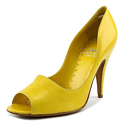 Moschino Cheap and Chic Giallo Cuir Talons