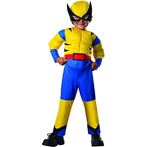 Lil Wolverine Muscle Chest Toddler Costume - Toddler