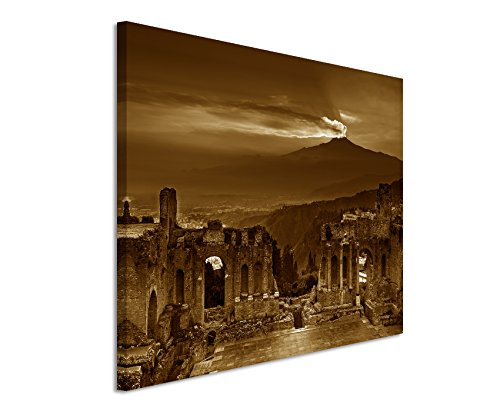 120-x-80-cm-wall-canvas-in-sepia-photographic-ruins-flavian-amphitheatre-atna-sunset