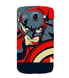 printtech Superhero Avengers Shield Back Case Cover for Samsung Galaxy J7 / Samsung Galaxy J7 J700F (2015 EDITION)
