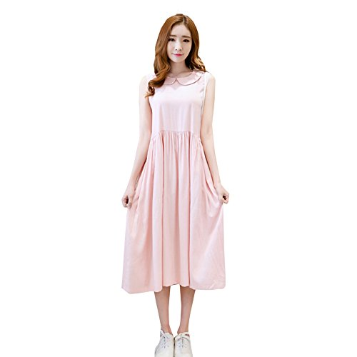 Fuyong Women Casual Retro Embroidered Cotton Comfortable Dress 9 (Petticoat Junction Season 4 compare prices)