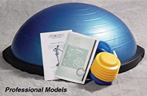 Professional BOSU, with Feet + Book + DVD from AB Marketers LLC