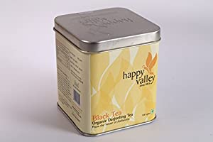 Happy Valley Organic Darjeeling Black Tea (whole leaf tea) - 100gms