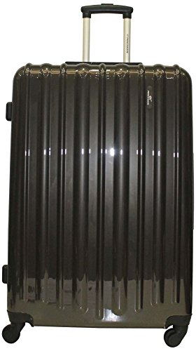 Princeware Princeware Radiant Polycarbonate Dark Grey Luggage Set (6882) (Multicolor)