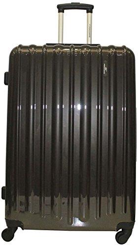 Princeware Princeware Radiant Polycarbonate Dark Grey Luggage Set (6882) (Multicolor)