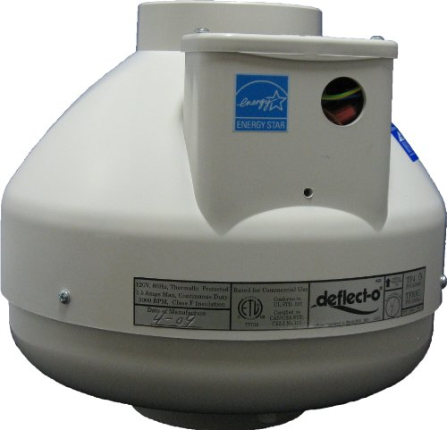 "Deflecto Tf4 4"" Dryer Booster Fan front-547159"