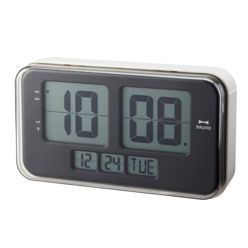 IDEA Retro Digital Flip Clock - Large Wall Version in White