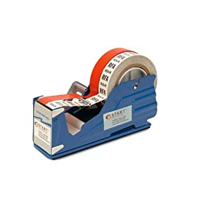 "START International SL7326 Multi Roll Tape Dispenser with Baked Enamel Finish, 9.37"" Length x 2.750"" Width x 5.250"" Depth"
