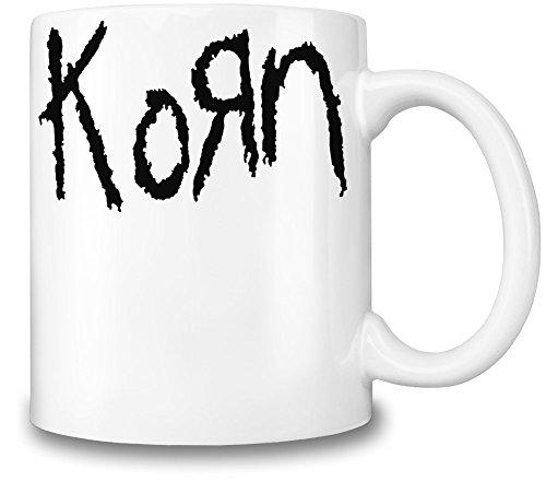 Korn Logo Tazza Coffee Mug Ceramic Coffee Tea Beverage Kitchen Mugs By Genuine Fan Merchandise