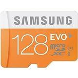 microSDXC 128GB Samsung サムスン 超高速Class10 UHS-I SD変換アダプター付 並行輸入品 【宅】