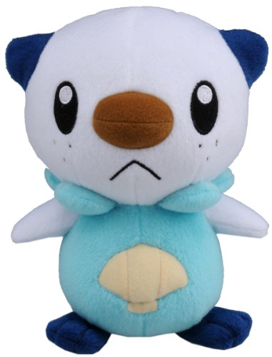 Takaratomy Pokemon Diamond And Pearl Plush Stuffed Toy - 6' Mijumaru/Oshawott