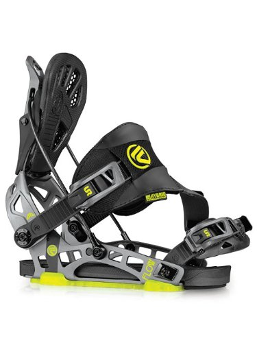 Flow NX2-GT Snowboard Binding – Men's Stealth Black Large