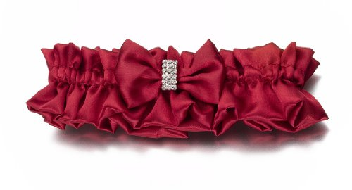 412dO3YccIL Diamond Red Bridal Garter for Wedding Reviews