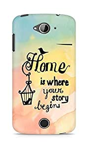 AMEZ home is where your story begins Back Cover For Acer Liquid Z530