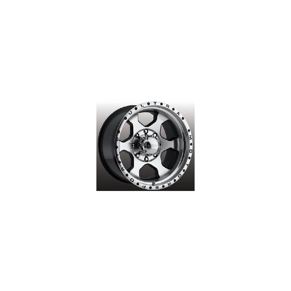 Ultra Wheel 175U Rogue Diamond Cut Face with Gloss Black Accents Wheel (18x8.5/5x150mm, +35mm offset)
