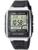 Casio - WV-59E-1AVEF - Waveceptor - Homme Acier - Quartz Digitale - Multifonctions - Bracelet Résine