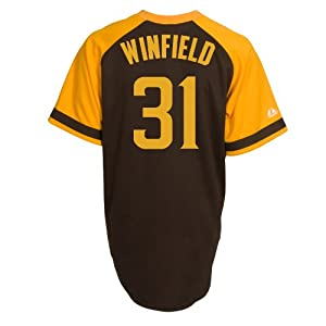 Dave Winfield San Diego Padres Replica Cooperstown Jersey by Majestic by Majestic