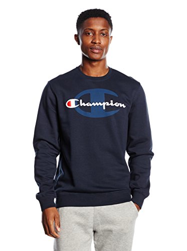 champion-sweat-shirt-a-col-rond-pour-homme-xxl-navy-blazer