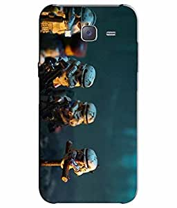 Case Cover Multicolour Printed Back Cover For Samsung Galaxy J7