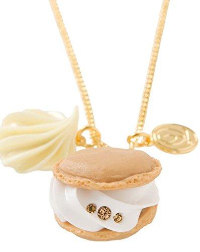 """Q-Pot Ciondolo motivo """"Bignè"""", dolci motivi, gioielleria alla moda fabbricata in Giappone F/S."""