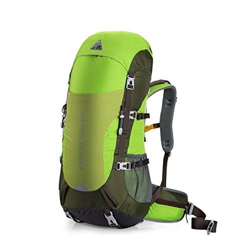 Grand sac capacité d'alpinisme / de plein air sac à dos / hommes et des femmes professionnelles sac à dos / sac à dos de camping-vert 50L