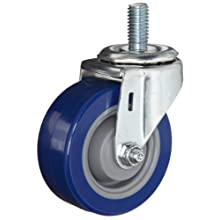 E.R. Wagner Stem Caster, Swivel, Polyurethane Wheel