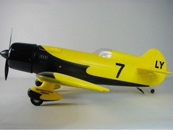 New 2011 Advanced GeeBee Racer Radio Remote Control Electric Airplane RTF With Li-Po Battery, Brushless Motor and a 2.4G 4 Ch Radio System