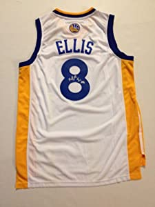 Golden State Warriors MONTA ELLIS Signed Autographed NBA Jersey COA by Basketball