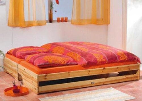 klapp tagesbett doppelbett g stebett tagesbett kiefer massiv. Black Bedroom Furniture Sets. Home Design Ideas